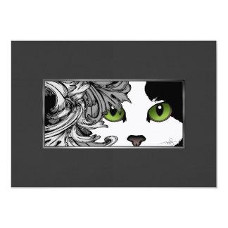 Cat Eyes Green Card