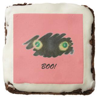 Cat Eyes Halloween Chocolate Brownie