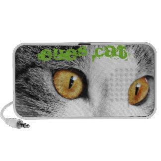 Cat eyes image portable speakers