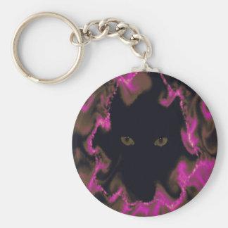Cat Eyes Keychain