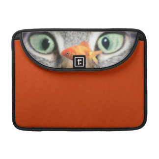 Cat Eyes MacBook Sleeve