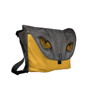Cat Eyes Courier Bags