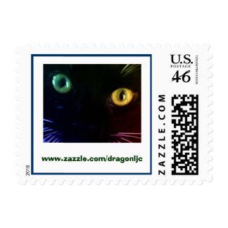 Cat Eyes Postage