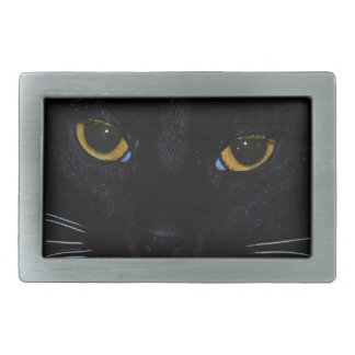 Cat Eyes Rectangular Belt Buckle