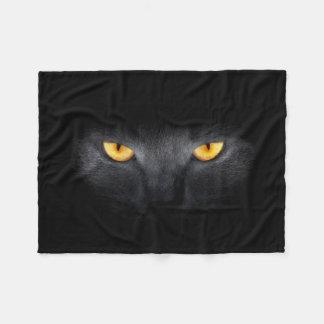 Cat Eyes Small Fleece Blanket
