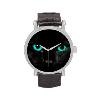 Cat Eyes Wrist Watch