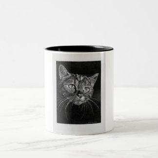 Cat Face 11 oz mug