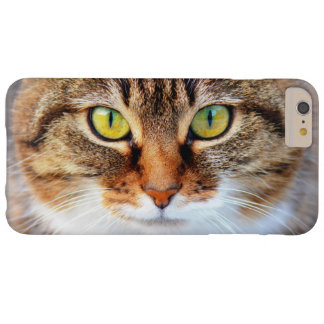 Cat face barely there iPhone 6 plus case