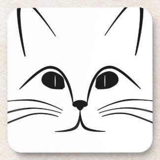 Cat Face Coaster