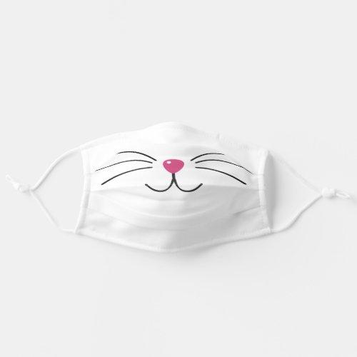 Cat face fun animal adult cloth face mask