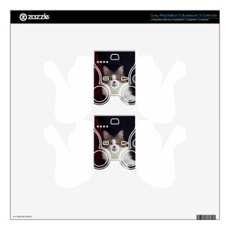 Cat Face Skins For PS3 Controllers