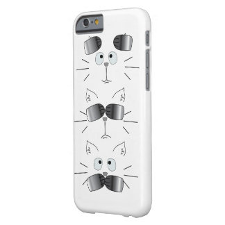 Cat Face Totem Hear See Speak No Evil Barely There iPhone 6 Case