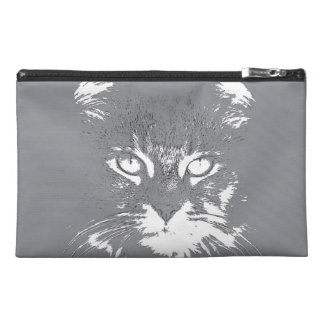 Cat Face Travel Accessory Bag
