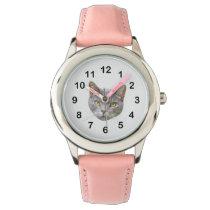 Cat Face Wrist Watch