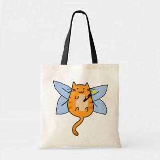 Cat Fairy Costume Trick or Treat Bag
