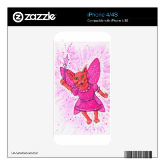 Cat Fairy Decals For The iPhone 4S