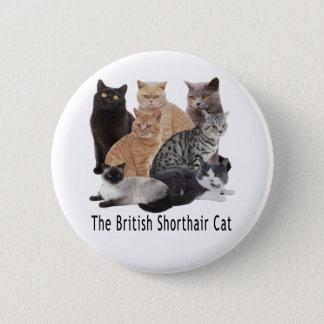 Cat Family British Shorthair Button