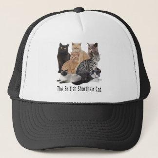 Cat Family British Shorthair Trucker Hat