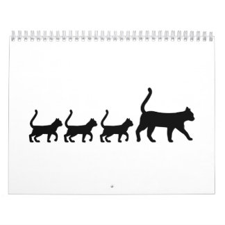 Cat family calendar