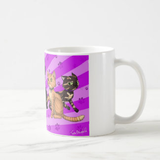 Cat Family Classic White Coffee Mug