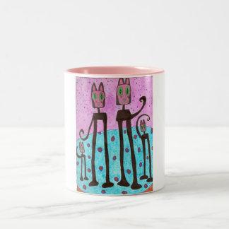 Cat Family Mug Cup Autism