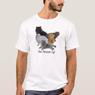 Cat Family Persian T-Shirt