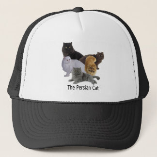 Cat Family Persian Trucker Hat