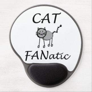 Cat fanatic gel mouse pad