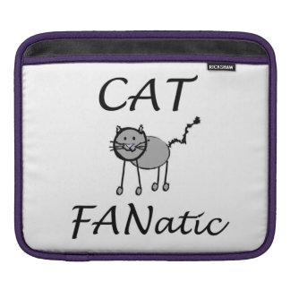 Cat Fanatic Sleeve For iPads
