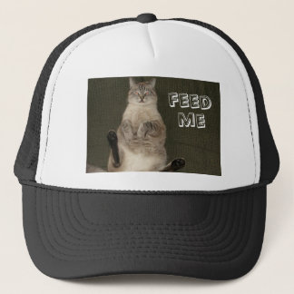 "Cat ""FEED ME"" Hat"