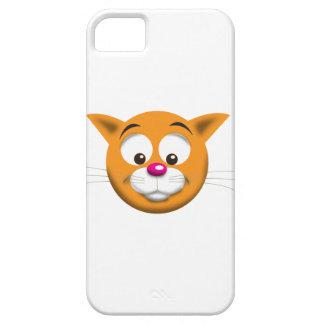 CAT FELIZ iPhone 5 FUNDAS