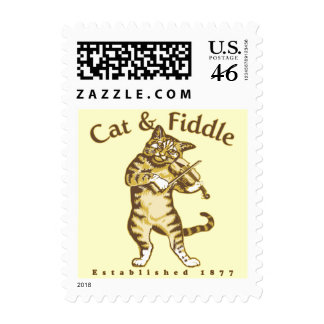 Cat Fiddle Stamps