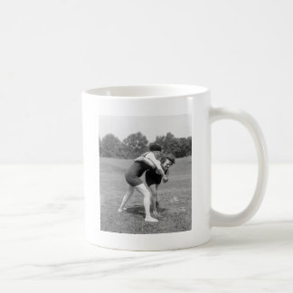 Cat Fight, early 1900s Coffee Mug