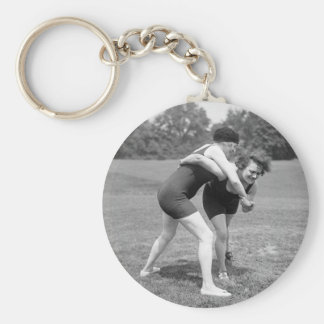 Cat Fight, early 1900s Keychain