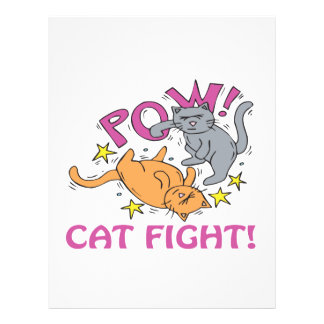 Cat Fight Flyers
