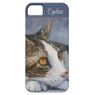 Cat Fine Art Personalized Case