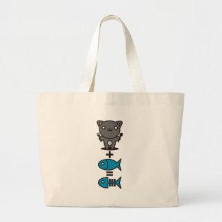 Cat + Fish = Bone Bag