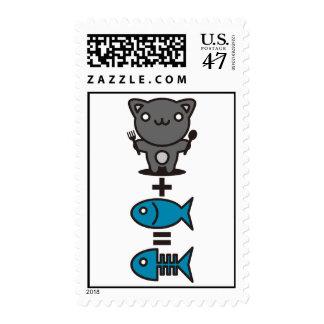 Cat + Fish = Bone Postage