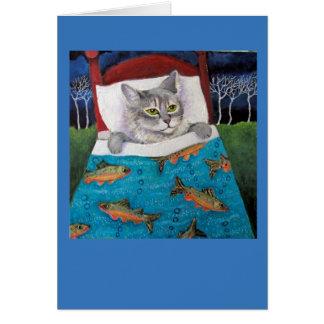Cat Fish Card
