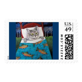 Cat Fish stamp