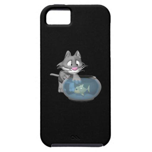 Cat Fishing iPhone 5 Case