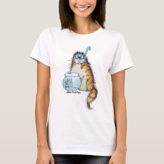 Cat Fishing T-Shirt
