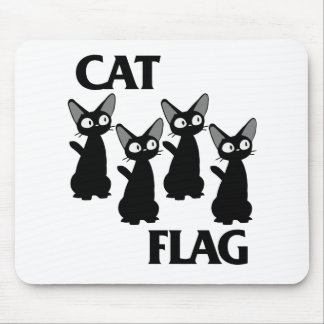 CAT FLAG 2 MOUSE PAD