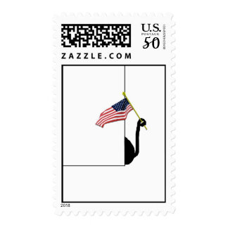 Cat Flag Tail Postage