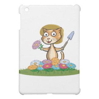 Cat Flower Gardener Case For The iPad Mini
