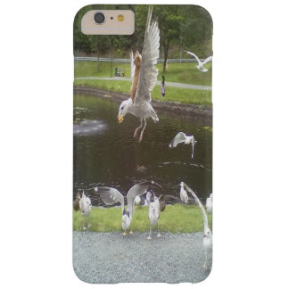 Cat flying a Seagull Barely There iPhone 6 Plus Case