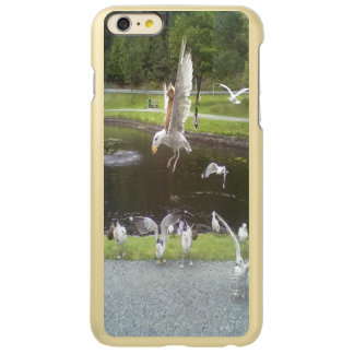 Cat flying a Seagull Incipio Feather® Shine iPhone 6 Plus Case