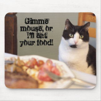 Cat Food Mouse Pad
