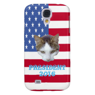 Cat for For President 2016 Pillows Galaxy S4 Cover