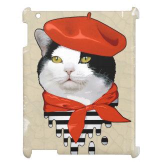 cat Frenchman iPad Cover